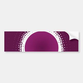 Grape Purple Eclipse Bumper Sticker