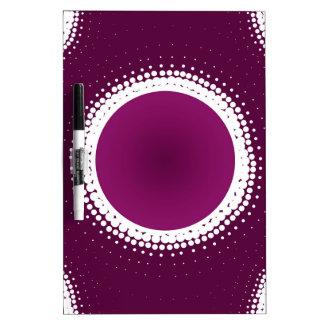 Grape Purple Eclipse Dry Erase Board