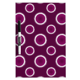 Grape Purple Eclipse Dry Erase Board