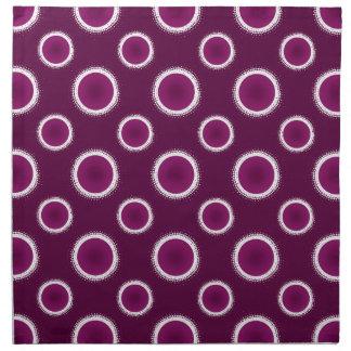 Grape Purple Eclipse Napkin