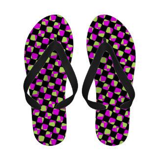 Grape Racer Flip-Flops