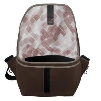 """Grape Soda"" Geometric Art Courier Bags"