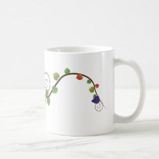 Grape Vine Coffee Mug Basic White Mug