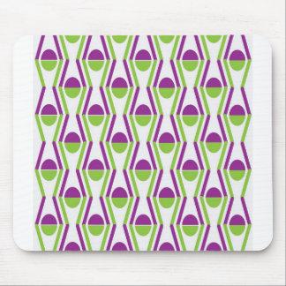 Grape & Vine Pattern Mousepad