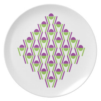 Grape & Vine Pattern Plate