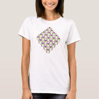 Grape & Vine Pattern T-Shirt