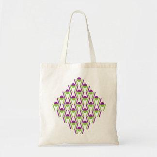 Grape & Vine Pattern Tote Bag