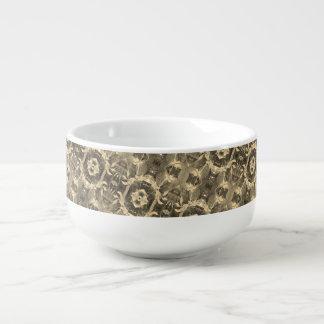 Grape Vine Soup Bowl Soup Bowl With Handle
