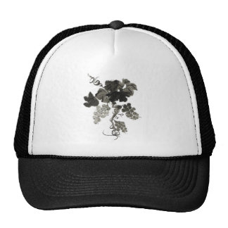 Grape Vine, Sumi-e Mesh Hats