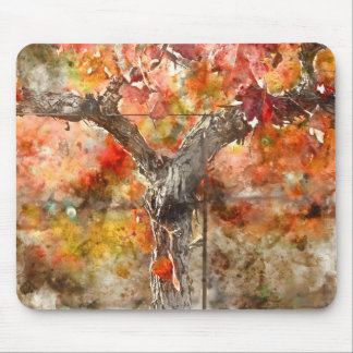 Grape Vines in the Fal Mouse Pad