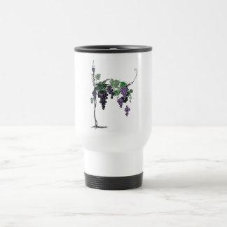 Grape Vines Travel Mug