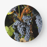 Grape Vineyard 2 Wallclocks