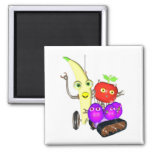 GrapeBot BananaBot Refrigerator Magnets
