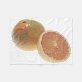 Grapefruit Fleece Blanket