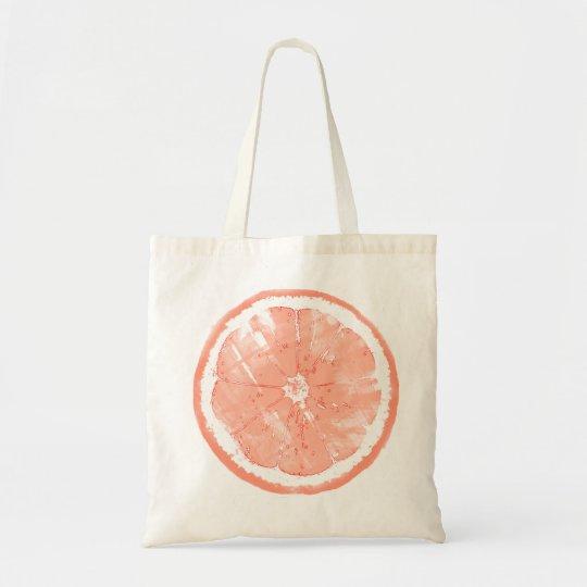 Grapefruit Printed Tote