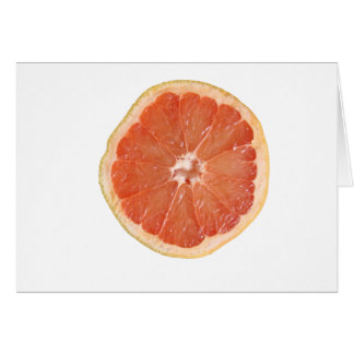 Grapefruit Slice Card
