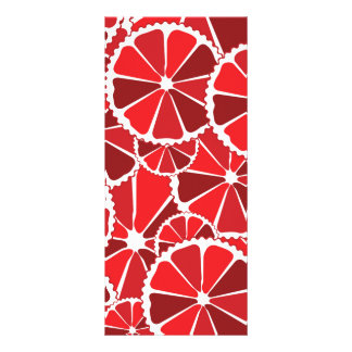 Grapefruit slices full colour rack card