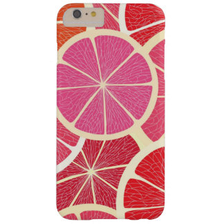 Grapefruit vintage background barely there iPhone 6 plus case