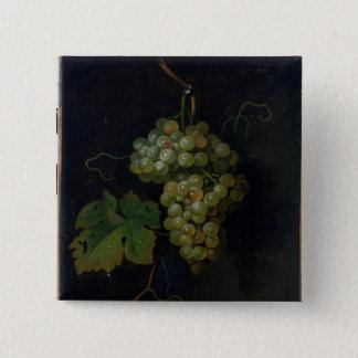 Grapes 15 Cm Square Badge