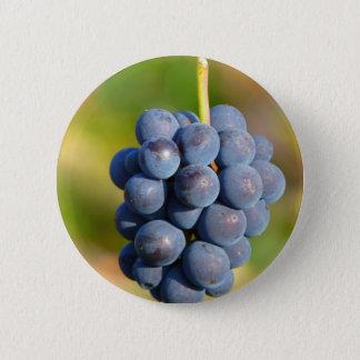 Grapes 6 Cm Round Badge
