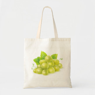 Grapes and mint tote bag
