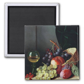Grapes and plums magnet