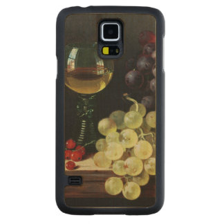 Grapes and plums maple galaxy s5 case