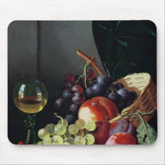 Grapes and plums mouse pad