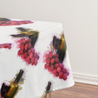 Grapes and Wine Tablecloth
