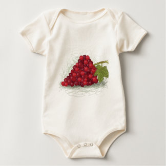grapes baby bodysuit