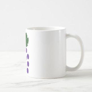 Grapes Basic White Mug