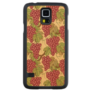 Grapes Carved Maple Galaxy S5 Case