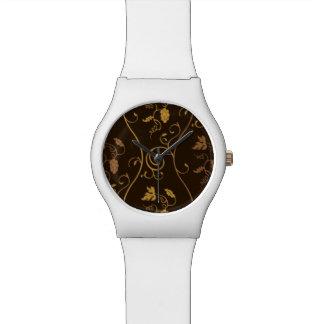 Grapes décor watch