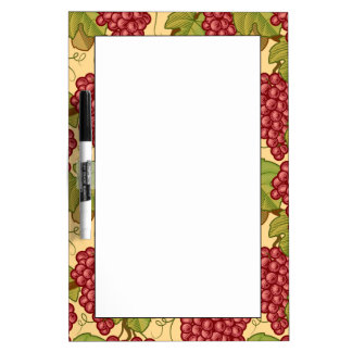 Grapes Dry Erase Board