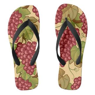 Grapes Flip Flops