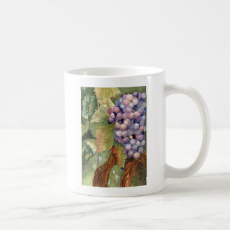 Grapes, Fruit of the Vine Basic White Mug