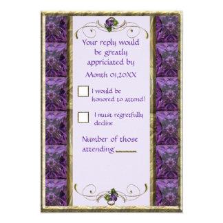 Grapes Grapes RSVP Invitations