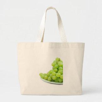 Grapes Large Tote Bag