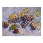 Grapes, Lemons, Pears, Apples - Vincent Van Gogh Postcard