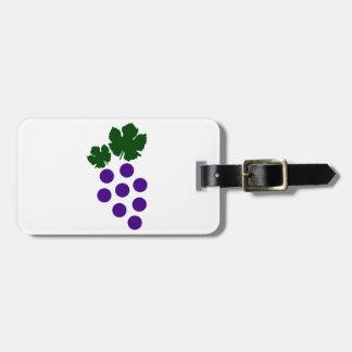 Grapes Luggage Tag