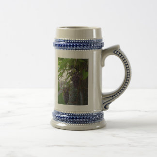 Grapes 18 Oz Beer Stein