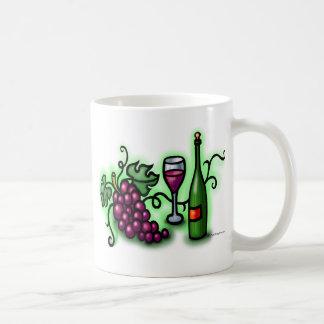 Grapes n Wine Coffee Mug