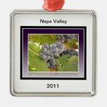 Grapes of Napa Ornament