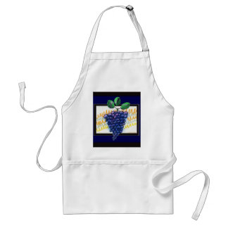 """Grapes Of Wrath"" apron by Zoltan Buday"