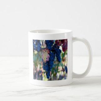 Grapes on a Vine Basic White Mug