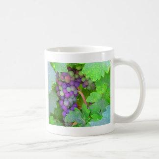 Grapes on the Vine Basic White Mug
