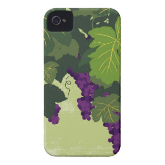 Grapes on the Vine iPhone 4 Case-Mate Case