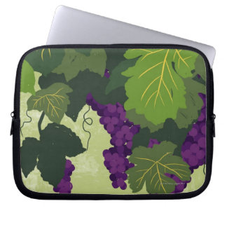 Grapes on the Vine Laptop Computer Sleeves