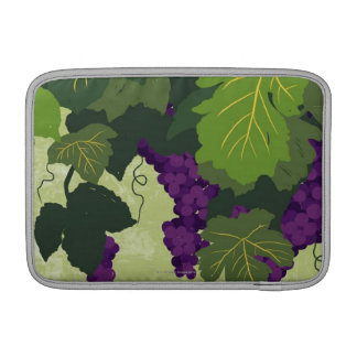 Grapes on the Vine MacBook Sleeve