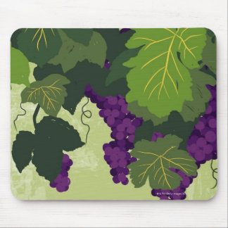 Grapes on the Vine Mouse Pad